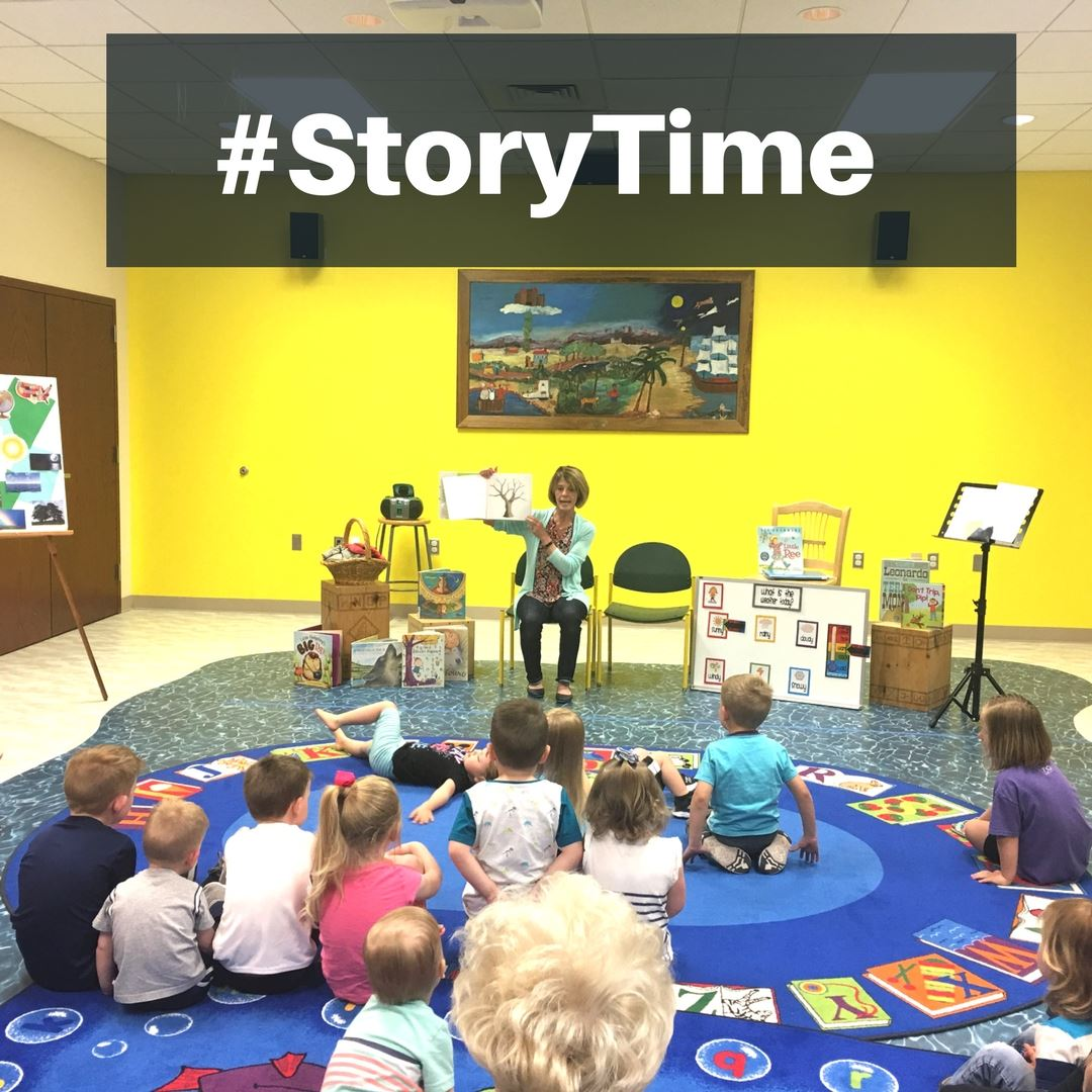 StoryTime at the Canyon Area Library